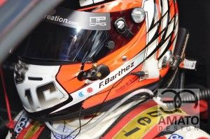 Casque Fabien BARTHEZ GT TOUR - Augustin SPERY