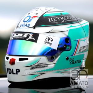 Casque Paul-Loup CHATAIN LE MANS 2016